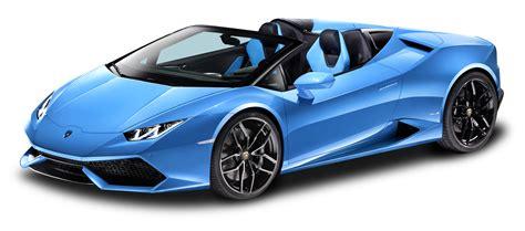 car lamborghini blue blue lamborghini huracan lp 610 4 spyder car png image