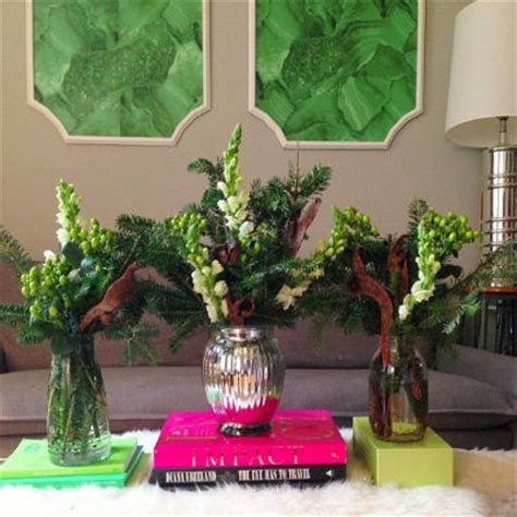 evergreen centerpieces ps i made this erica domasek diy evergreen arrangements