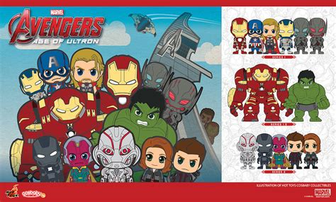 Toys Cosbaby Vision Civil War Ori age of ultron cosbaby teaser plastic and plush