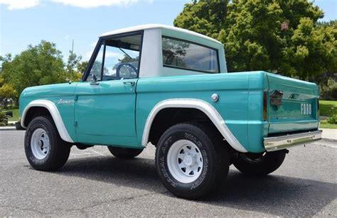 old car manuals online 1996 ford bronco parking system ebay find 1966 ford bronco half cab web2carz