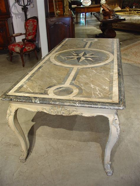 antique dining room table styles antique french painted louis xv style dining table for