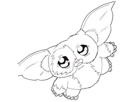 Gizmo Coloring Pages Gremlins Coloring Pages
