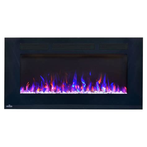 electric wall mounted fireplaces clearance napoleon 50 inch wall mount electric fireplace