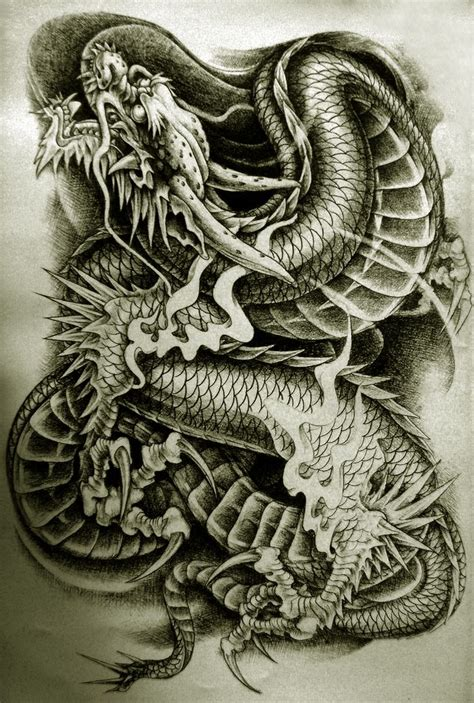 tattoo drawings designs and sketches drachen http tattooideen at drachen