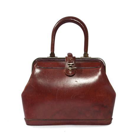 Vintage Bag vintage etienne aigner leather handbag purse in oxblood