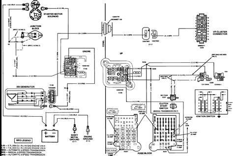 98 Chevy Alternator Wiring Diagram Online Wiring Diagram