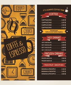 desain menu cafe cdr cafe free vector download 344 free vector for commercial