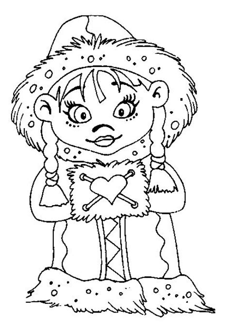 eskimo coloring pages 1 eskimo colouring pages stock
