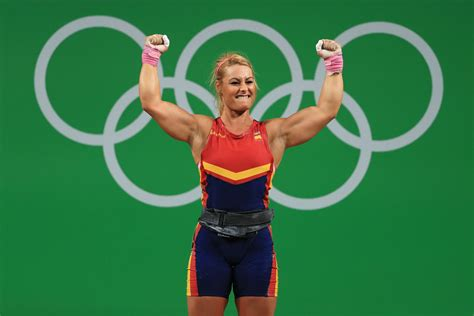 lydia valentin lidia valentin perez in weightlifting olympics day 7