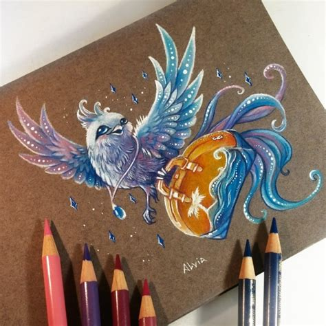 drawing color 20 stunning color pencil drawings and illustrations by