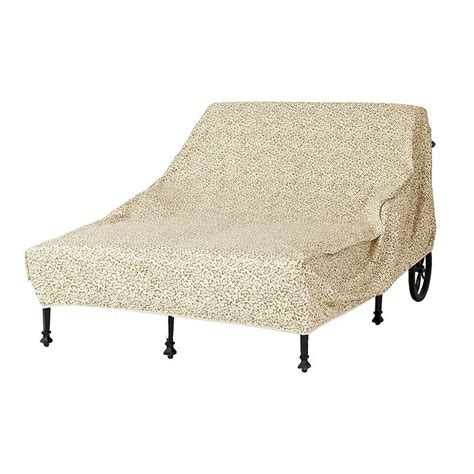 outdoor chaise covers outdoor double chaise cover ballard designs