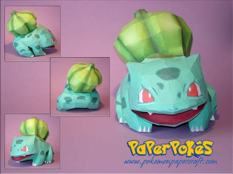 How To Make Origami Bulbasaur - papercraft de sorprendentes taringa