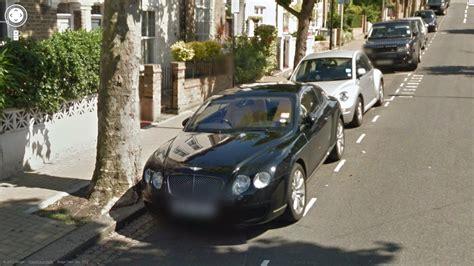 bentley  rolls royce cars  google street view