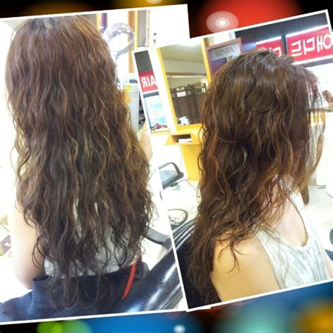 haircut before or after a bodybperm body wave perm wave perm and perms on pinterest