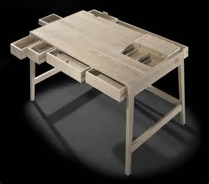 Solid Wood Small Desk No Screws Or Glue In Solid Wood Desk By Wewood