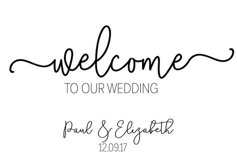 Wedding Welcome Sign / Welcome Wedding Sign / Modern Welcome