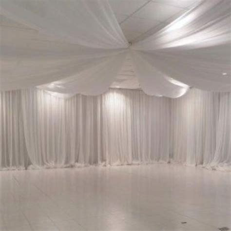 white draping white draping ceiling drapes for receptions pinterest