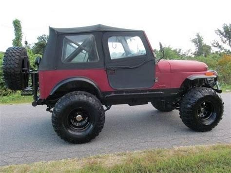 Jeep V8 For Sale Lifted 1986 Jeep Cj 7 Chevy V8 For Sale