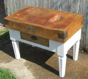 french vintage butchers block kitchen island antiques atlas