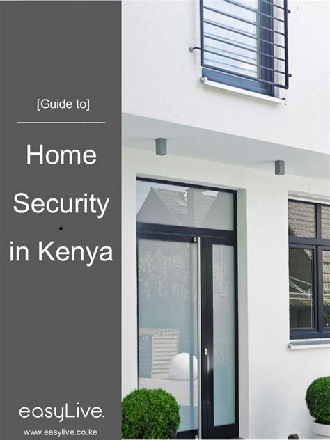easylive guide to home security in kenya