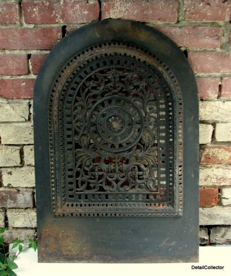 antique jackson ny fireplace grate summer cover vent