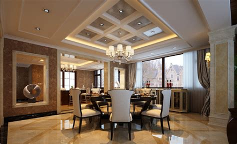 Tuscany Kitchen Designs by 3d Villa Dining Room With Marble Floors Download 3d House