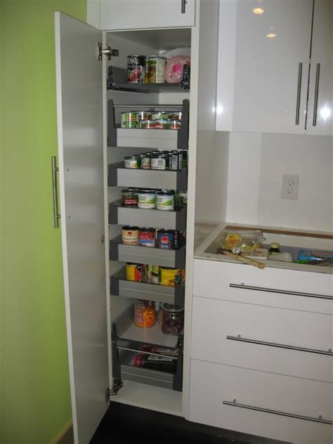 ikea kitchen storage ideas decorate ikea pull out pantry in your kitchen and say goodbye to your stuffy kitchen homesfeed