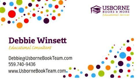 usborne business card template usborne business cards gallery card design and card template