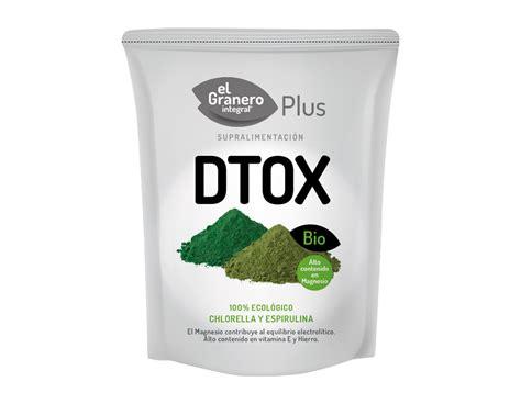 Spirulina And Chlorella Detox by Detox Chlorella Y Spirulina Bio 200 G El Granero Integral