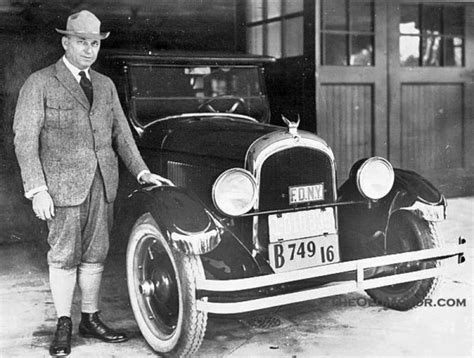 Founder Of Chrysler by The Advanced New Chrysler Six Is Unveiled January 1924
