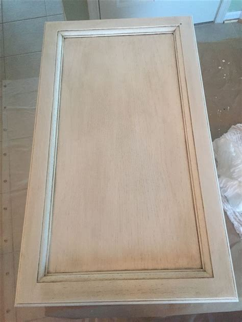 Our Rustoleum cabinet transformations pure white with