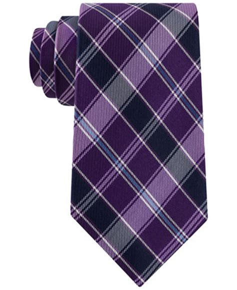 club room ties club room s traditional plaid tie only at macy s ties pocket squares macy s