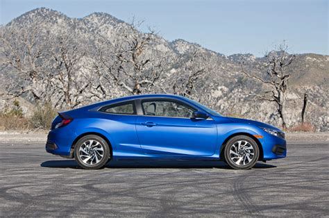Honda Civic Coupe 2016 Honda Civic Coupe Test Review Motor Trend