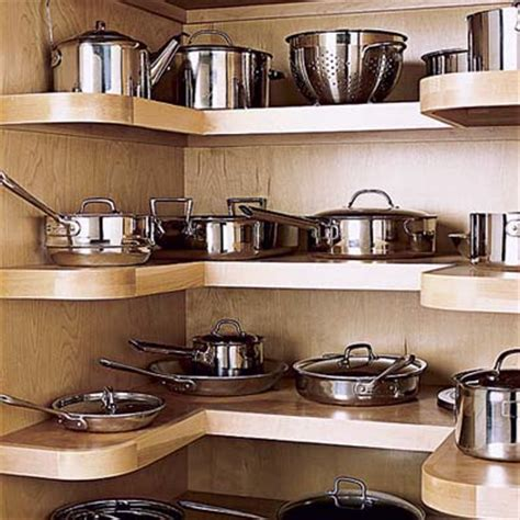 Kitchen Pan Storage Ideas 15 Creative Ideas To Organize Pots And Pans Storage On Your Kitchen Shelterness