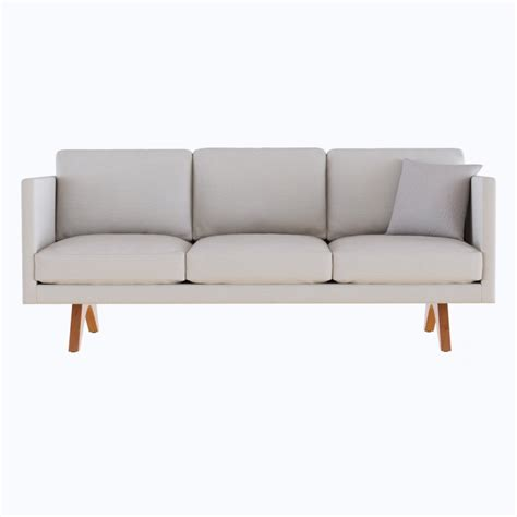 west elm couch west elm brooklyn upholstered sofa 3d model cgstudio