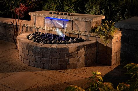 Backyard Waterfalls Kits by Water Features Basalite
