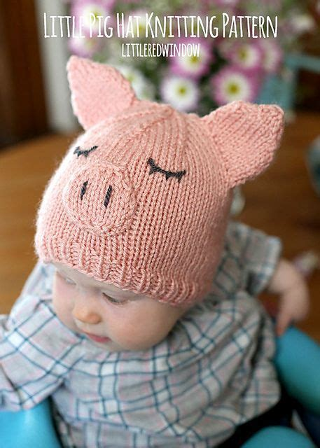 knitted pig hat 654 best images about knitting on free pattern