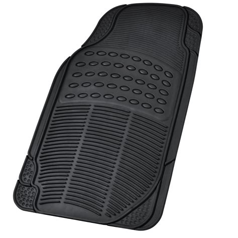 Heavy Duty Truck Mats car rubber floor mats car suv truck black all weather heavy duty semi custom ebay