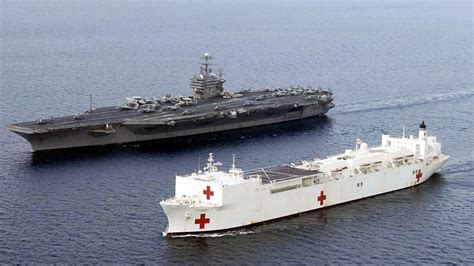 biggest navy boat in the world monster machines how the world s largest hospital ships