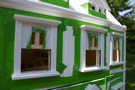 doll house paint how to paint a dollhouse with a kid