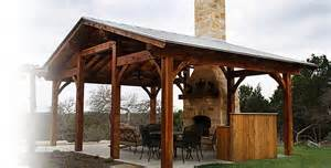 Covered Backyard Patio Designs Outdoor Living Timber Frames