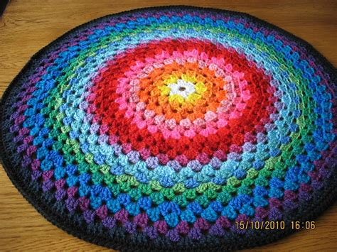 crochet mandala rug mandala rug or pillow for the home