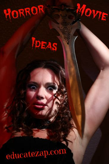 themes in a horror film horror movie ideas are you thinking about writing a
