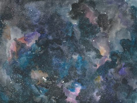 watercolor nebula tutorial watercolor galaxy test by elliebracha on deviantart