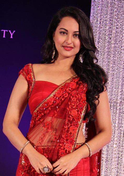 sonakshi sinha gallery sonakshi sinha latest stills in red saree film