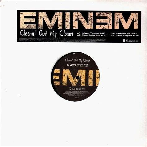 Eminem Cleanin Out Closet by Eminem Cleanin Out Closet 12 Temple Of Deejays