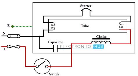 one l controlled by switch circuit diagram circuit