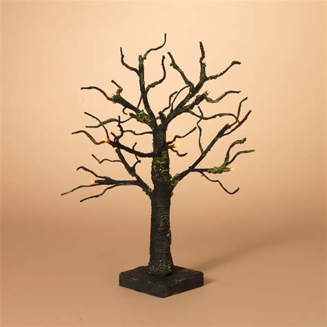 Tabletop Tree With Lights by 18 In Battery Operated Spooky Tabletop Tree