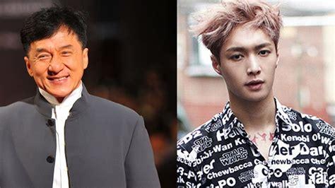 film exo film exo jackie chan exo lay s movie on hold sbs popasia
