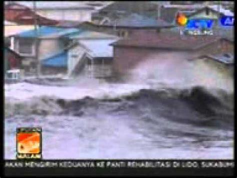 detik tsunami detik detik tsunami jepang dari pesisir pantai youtube